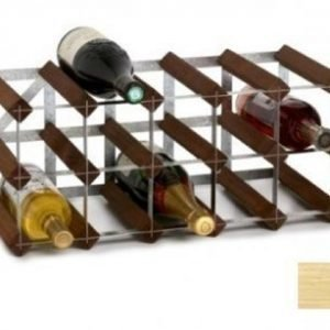 Traditional Wine Racks 15 pullon Koottava viiniteline