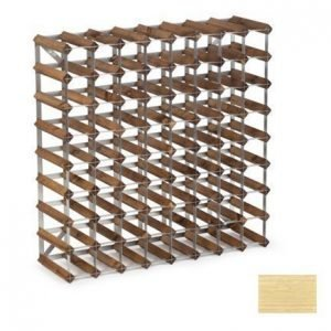 Traditional Wine Racks 72 pullon Koottava viiniteline