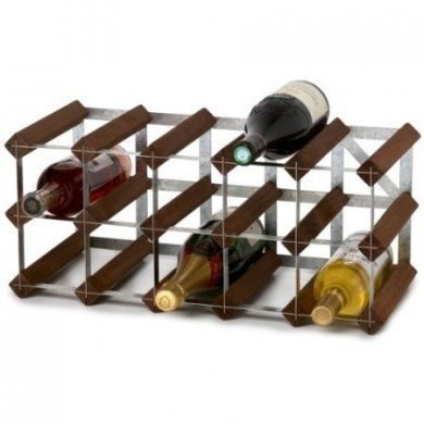 Traditional Wine Racks RTA 15 pullon Koottava Viinipulloteline