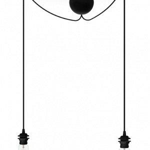 Umage Cannonball Johtosetti 2 Liitännällä Musta 2.5 Cm