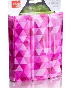 Vacuvin Active Wine Cooler Diamond Pink
