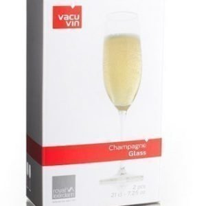 Vacuvin Champagne Glass 2 kpl