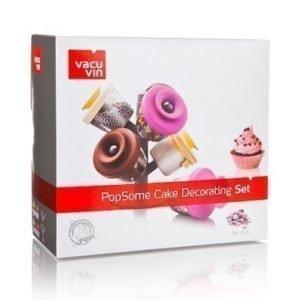 Vacuvin PopSome Cake Koristelusetti