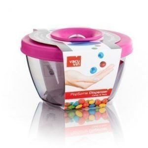Vacuvin PopSome Candy & Nut Dispenser kannellinen