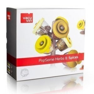Vacuvin PopSome Herbs kuuden kappaleen setti