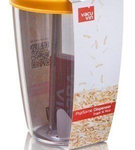 Vacuvin PopSome Sugar & Rice Säilytysastia kannella