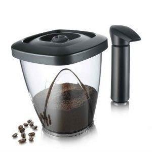 Vacuvin Tyhjiörasia Kahville 500 G + Pumppu