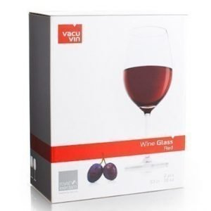 Vacuvin Wine Glass Red 2 kpl