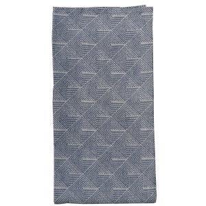Varg Designkollektiv Stubbe Käsipyyhe Sininen / Valkoinen 50x70 Cm