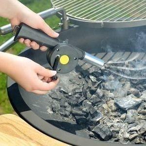 Veivattava grillipuhallin