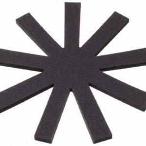 Verso Design OLKI pannunalunen pyöreä tummanharmaa