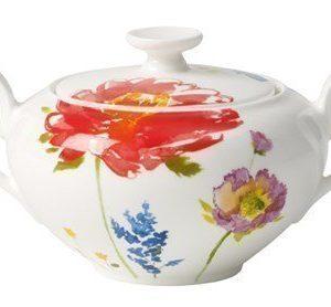 Villeroy & Boch Anmut Flowers Sokeri/Hillopurkki 6 henk. 0