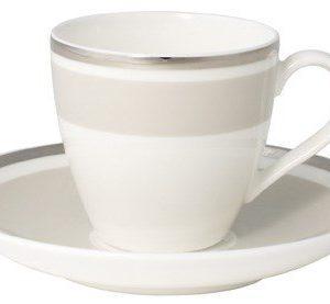 Villeroy & Boch Anmut My Colour Sav.Cream Espressokuppi&vati 2 osaa