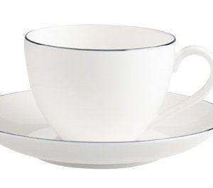 Villeroy & Boch Anmut Platinum No.1 Kahvikuppi&vati 2 osaa