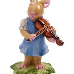 Villeroy & Boch Bunny Family Bunny With Violin Pääsiäiskoriste