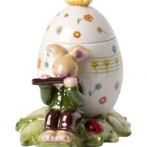 Villeroy & Boch Bunny Family Easter Egg Flutist Pääsiäiskoriste