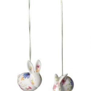 Villeroy & Boch Mariefleur Spring Bunny Pääsiäiskoriste 2 Kpl