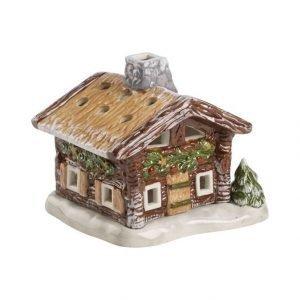 Villeroy & Boch Mini Christmas Village: Metsämökki Tuikkulyhty 10 mm