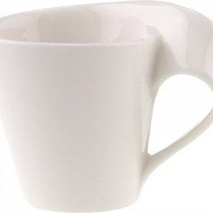 Villeroy & Boch Newwave Caffe Espressokuppi Valkoinen 8 Cl