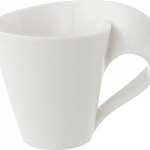 Villeroy & Boch Newwave Kahvikuppi Valkoinen 20 Cl