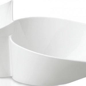 Villeroy & Boch Newwave Kaksoiskulho Valkoinen 49x27 Cm