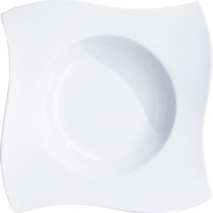 Villeroy & Boch Newwave Pastalautanen Valkoinen 28x28 Cm