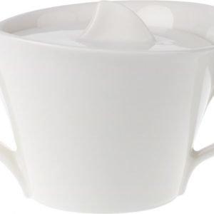 Villeroy & Boch Newwave Sokerikulho 6 Henkilölle Valkoinen 26 Cl