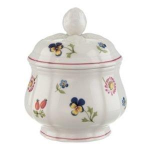 Villeroy & Boch Petite Fleur Sokerikulho Kannella 6 Henk. 0