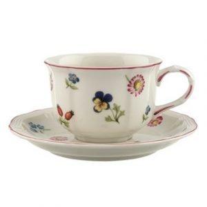 Villeroy & Boch Petite Fleur Teekuppi Ja Lautanen
