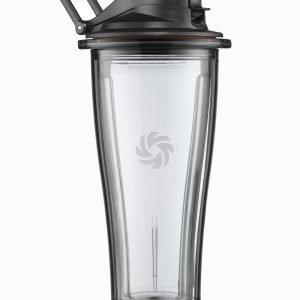 Vitamix Ascent Astia Kannella Musta 600 Ml 2-Osainen