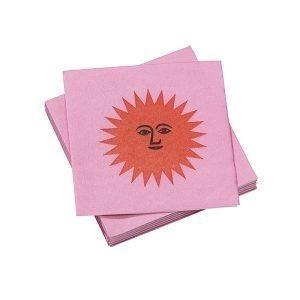 Vitra La Fonda Sun Paperiservetti Pinkki Oranssi