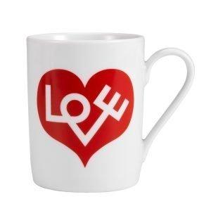Vitra Love Heart Muki Punainen