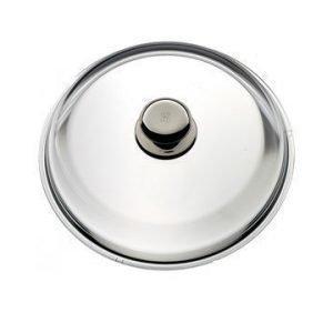 WMF Lasikansi lasi/teräs Ø 24 cm