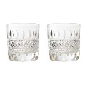 Waterford Irish Lace Tumbler Lasi Kirkas 2 Kpl
