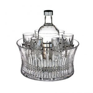 Waterford Lismore 60th Vodka Setti Kulhossa