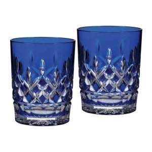 Waterford Lismore Cobalt Barware Dof 2 Kpl