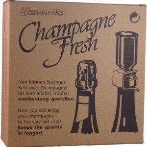 Wecomatic Champagne fresh- Vakuumipumppu ja viinipullon sulkija