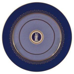 Wedgwood Anthemion Blue Lautanen Classic 30 Cm