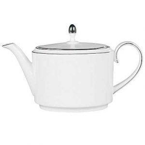 Wedgwood Blanc Sur Blanc Teekannu 0