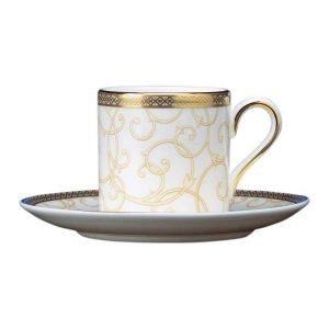 Wedgwood Celestial Gold Kahvikuppi Bond 0