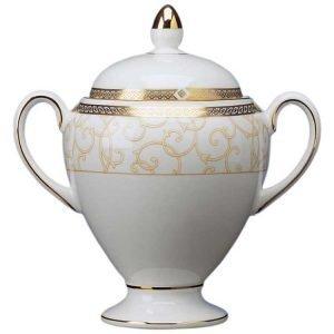Wedgwood Celestial Gold Sokerikulho Globe