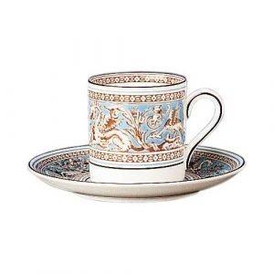 Wedgwood Florentine Turquoise Kahvilautanen Bond