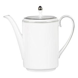 Wedgwood Grosgrain Kahvikannu Valkoinen 0