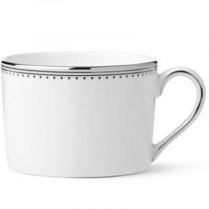 Wedgwood Grosgrain Teekuppi Imperial Valkoinen 0