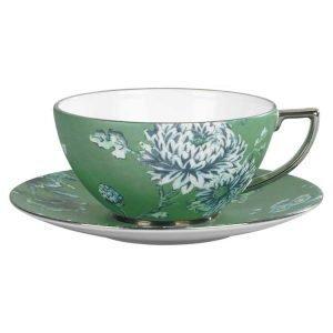 Wedgwood Jasper Conran Chinoiserie Green Teekuppi 0