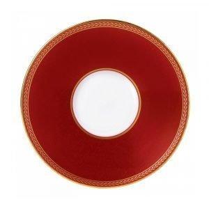 Wedgwood Renaissance Red Teelautanen 15 Cm