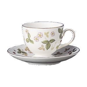 Wedgwood Wild Strawberry Teekuppi Leigh 0
