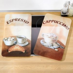 Wenko Liedensuojalevy 2-Pakkaus Espresso / Cappuccino