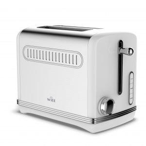Witt Vintage Leivänpaahdin 2 Siivua Valkoinen