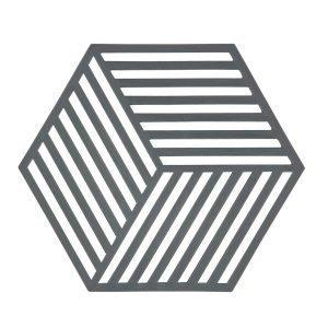 Zone Denmark Hexagon Pannunalunen Harmaa